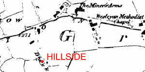 Location map of Hillside Farm