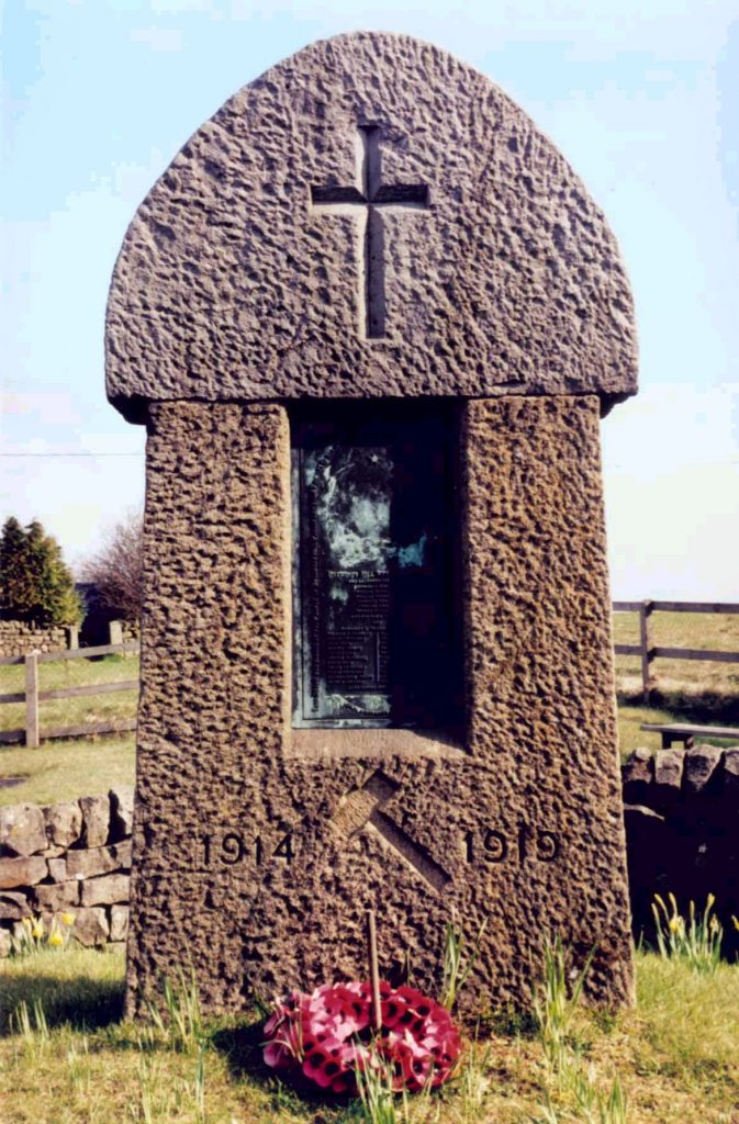 Greenhow Hill War Memorial 1914-1918